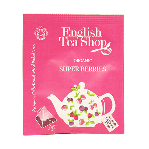 Image of   English Tea Shop Super Berries Tea Ø 50 Breve - 1 Pakk