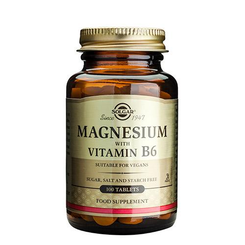 Solgar magnesium fra Mecindo