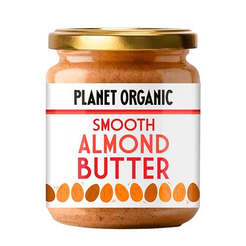 Planet Organic mandelsmør fra Mecindo