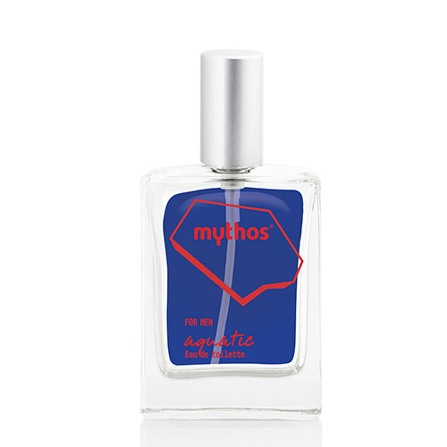 Image of   Mythos Eau De Toilette Aquatic Citrus & Amber - 50 ml