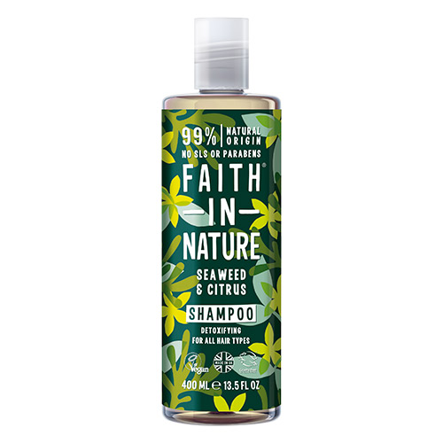 Billede af Faith in Nature Shampoo Alge & Citrus - 400 ml