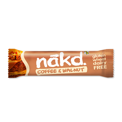 Image of   NÃkd Bar Coffee Walnut - 35 G