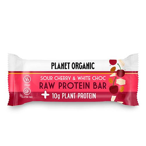 Planet Organic proteinbarer fra Mecindo