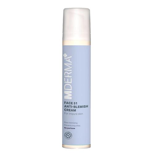 Image of   MDerma Face51 Anti-blemish Cream - 50 ml
