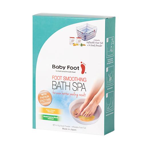 Image of Baby Foot Fodbad Incl. Fodsalt 6 X 10 Gr. - Oppustelig - 1 Pakk