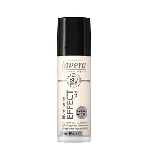 Image of   Lavera Illuminating Sheer Silver 01 Effect Fluid - 30 ml