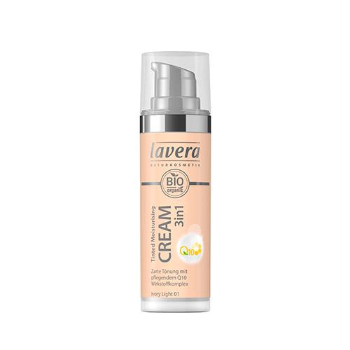 Image of   Lavera Cream - Ivory Light 01 Tinted Mouisturising 3 in 1 - 30 ml