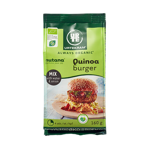 Image of   Urtekram Quinoa burger mix Ø - 160 G