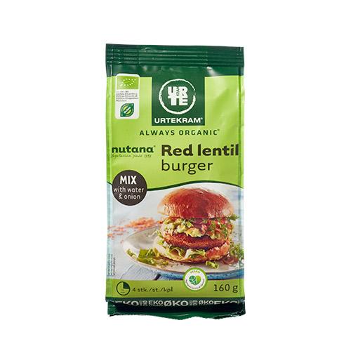 Billede af Urtekram Red lentil burger mix Ø - 160 G