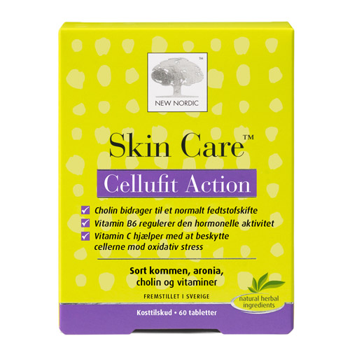 New Nordic Skin Care Cellufit Action - 60 Tabl