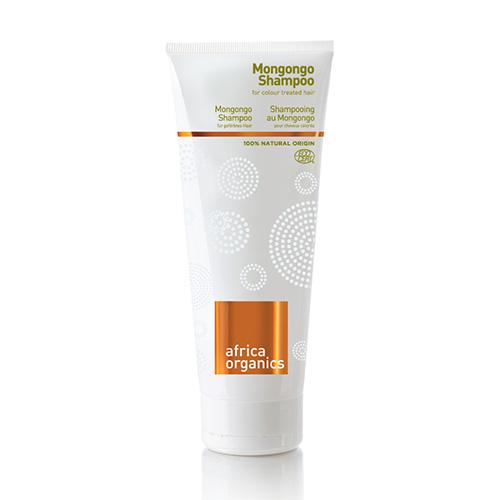 Image of   Africa Organics Shampoo Mongongo Til Farvet Hår - 210 ml