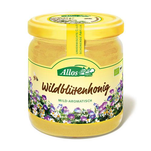 Image of Allos Honning Vildblomst Ø - 500 G