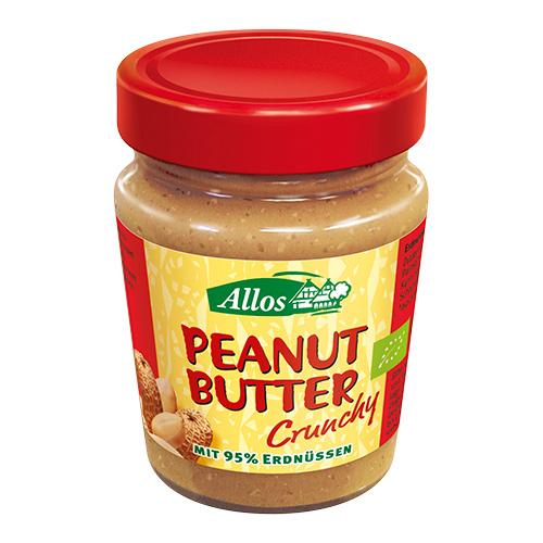 Image of Allos Peanutbutter Crunchy Ø - 227 G