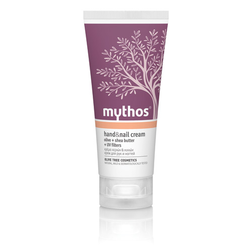 Billede af Mythos Hand & Nail Cream Olive + Shea Butter - 100 ml