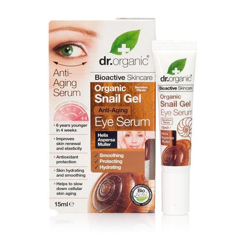 Dr. Organic Snail Gel Eye Serum - 50 ml