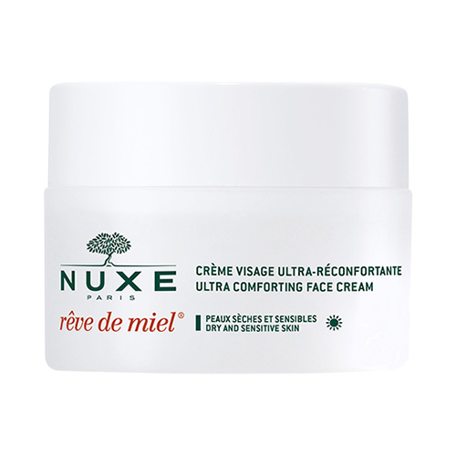 Image of   Nuxe Reve De Miel Dagcreme, Tør & Sensitiv Hud - 50 ml
