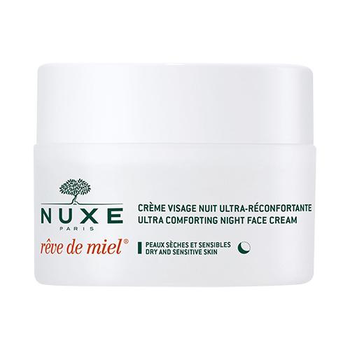 Image of   Nuxe Reve De Miel Natcreme, Tør & Sensitiv Hud - 50 ml
