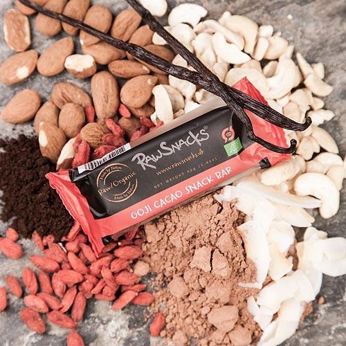Raw Snack Bar s goji cacao snack Ø - 40 G
