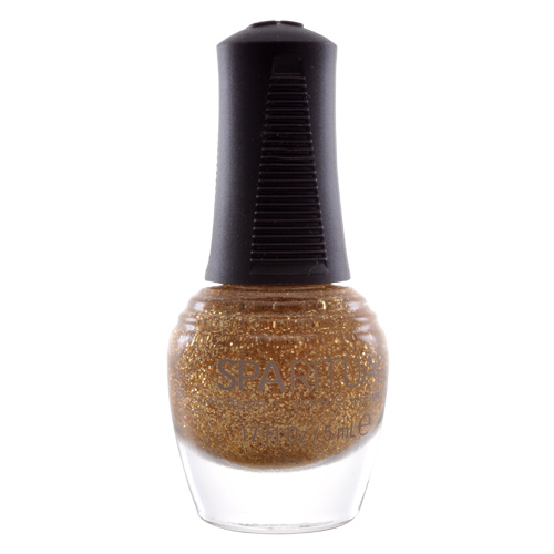 Image of   SpaRitual Neglelak Mini - Guld m. glimmer 88139 - 5 ml