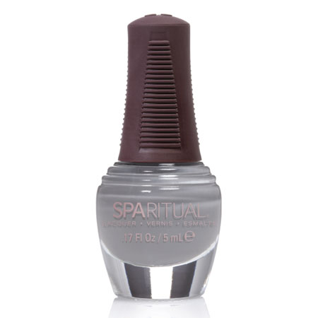 Image of   SpaRitual Neglelak Mini - Blå Grå 88140 - 5 ml
