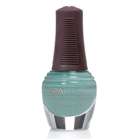 Image of   SpaRitual Neglelak - Mini Pastelgrøn 88377 - 5 ml