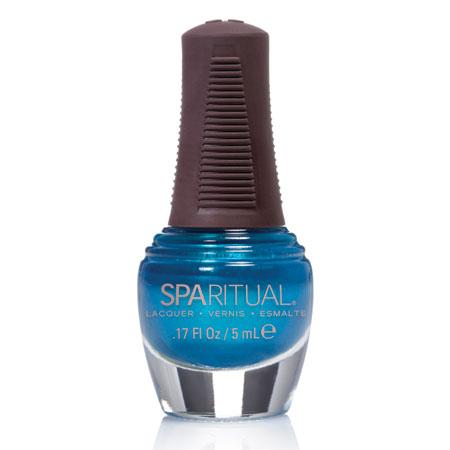 Image of   Spa Ritual Neglelak Mini - Turkisblå Perlemor 88382 - 5 ml