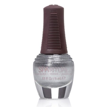 Image of   SpaRitual Neglelak Mini - Sølv m. perlemor 88389 - 5 ml