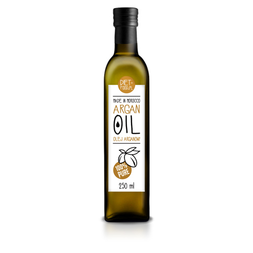 Diet-food argan olie