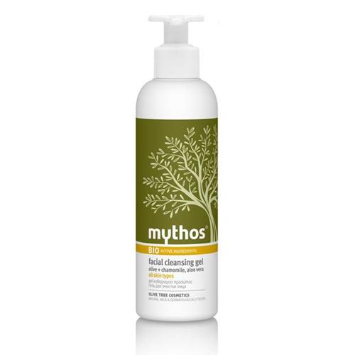 Billede af Mythos Facial Cleansing Gel Olive + Chamomile, Aloe Vera - 200 ml