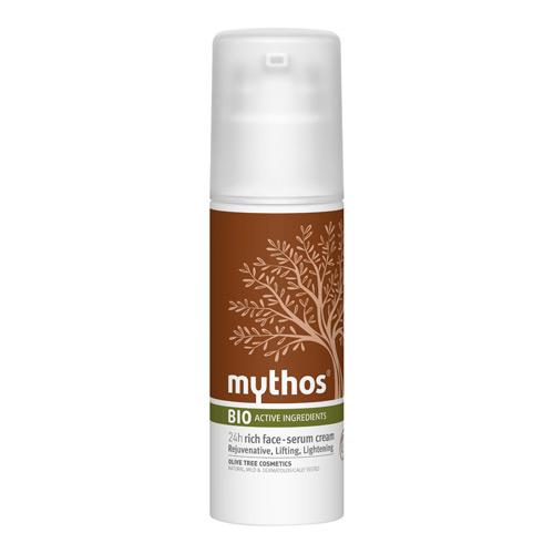 Billede af Mythos 24h Rich Rejuvenative Face Serum Cream Olive + Snail - 50 ml