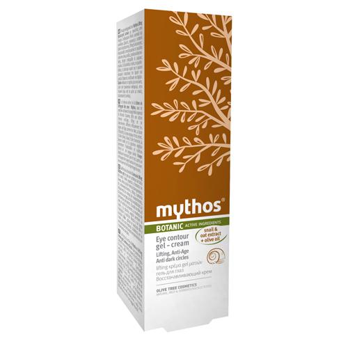 Billede af Mythos Lifting Eye Contour Gel Cream Olive + Snail - 20 ml