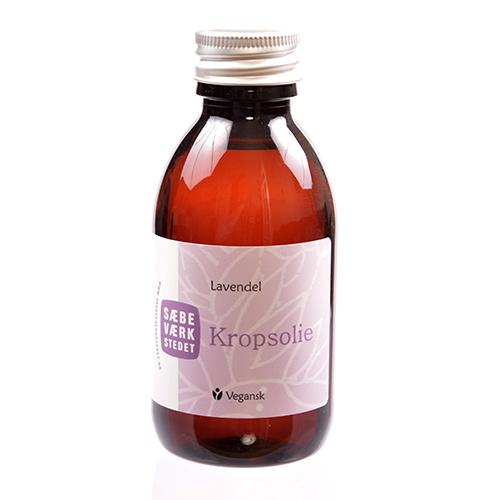 Image of   Sæbeværkstedet Kropsolie Lavendel - 150 ml