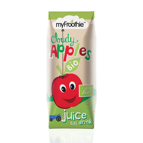 Image of   Myfroothie Apple Ø Børnejuice 3*200 Ml. - 1 Pakk