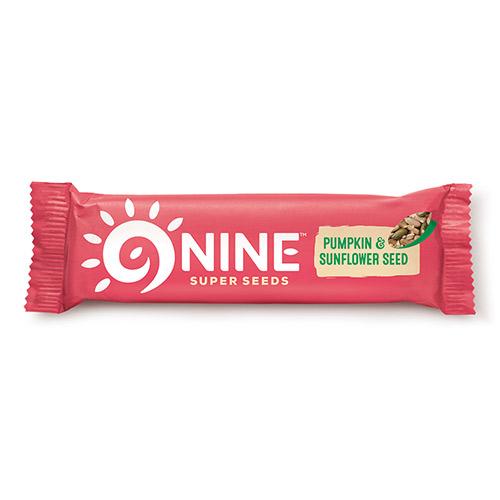 9Brand Foods 9NINE bar Græskar - 40 G