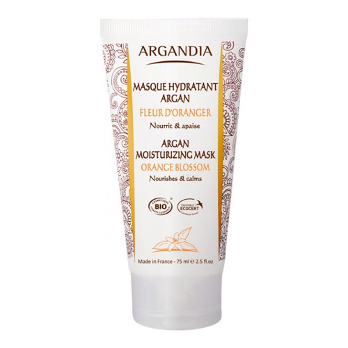 Image of Argandia Moisturizing Face Mask Orange Blossom - 75 ml