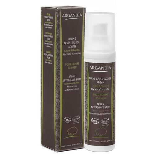 Image of Argandia Argan Aftershave Balm Cedar & Mint - 50 ml