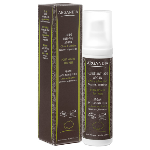 Image of Argandia Argan Anti-age Fluid Cedar & Mint - 50 ml
