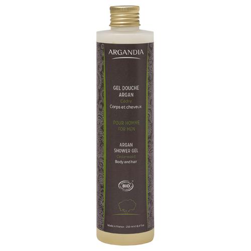 Image of Argandia Argan Shower Gel Cedar & Mint - 250 ml