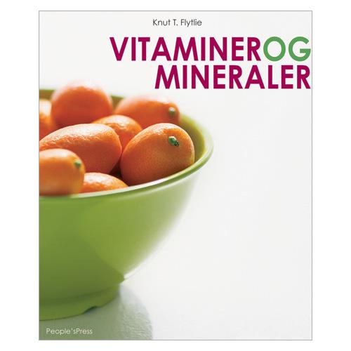 Image of ArtPeople Vitaminer Og Mineraler Bog - Forfatter: Knut T. Flytlie - 1 stk
