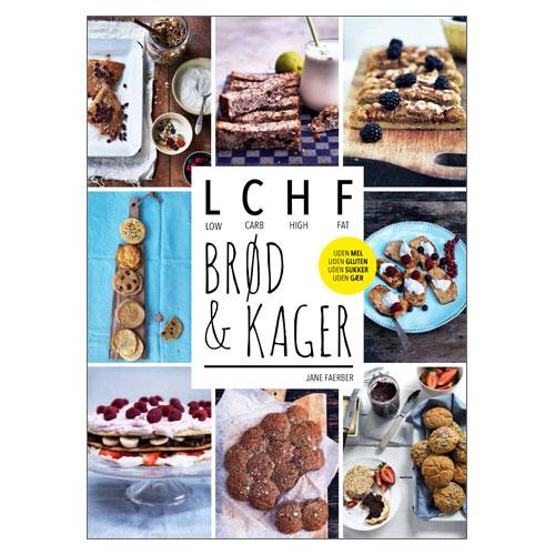 Image of   LCHF Brød og Kager Bog - Forfatter: Jane Faeber - 1 stk