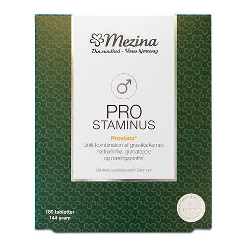 Billede af Mezina Pro-staminus - 180 Tabl
