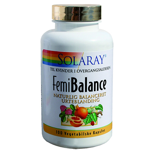 Image of   Solaray Femi Balance - 100 Kaps