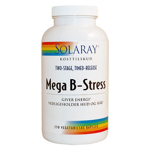 Image of   Solaray Mega B-Stress - 250 Kaps