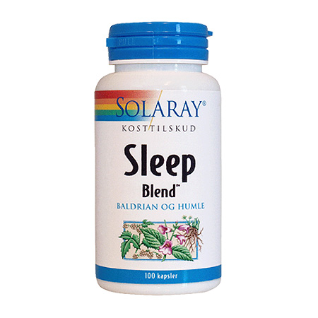 Image of   Solaray Sleep Blend - 100 Kaps
