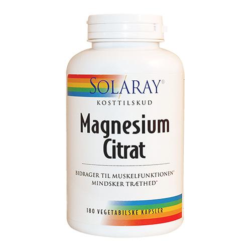 Solaray magnesium fra Mecindo