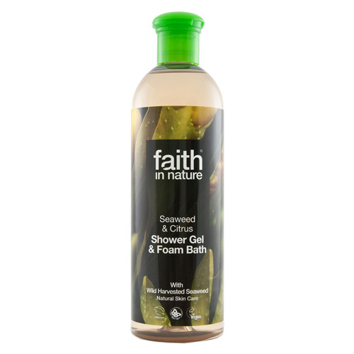 Image of   Faith in Nature Showergel Alge Ekstrakt Faith In Nature - 400 ml