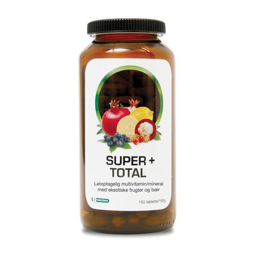 Billede af Mezina Super+ Super+ Total Multivitamin, Mineral - 150 Tabl