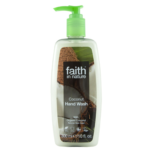 Image of   Faith in Nature Håndsæbe Flydende Kokos Faith In Nature - 300 ml