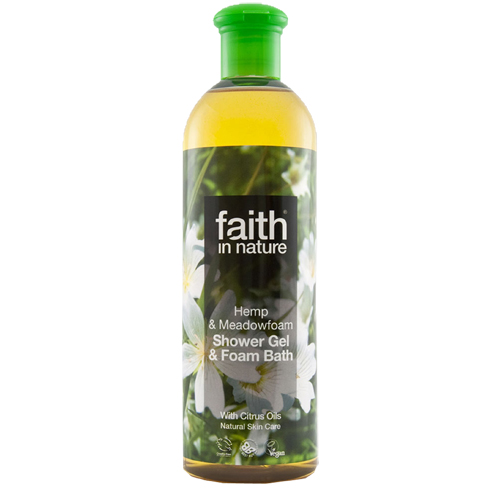 Image of   Faith in Nature Showergel Hamp & Engrapgræs Faith In Nature - 400 ml