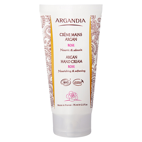 Image of Argandia Argan Hand Cream Rose - 75 ml
